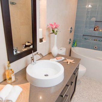 Идеи обустройства ванной. Как оформить ванную комнату 75 фото+видео