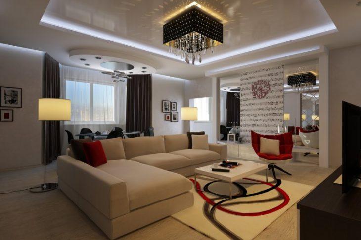 дизайн проект современных квартир