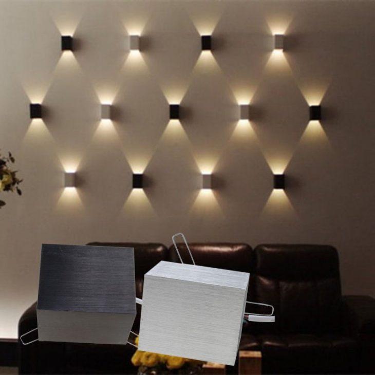 светодиодные светильники в интерьере