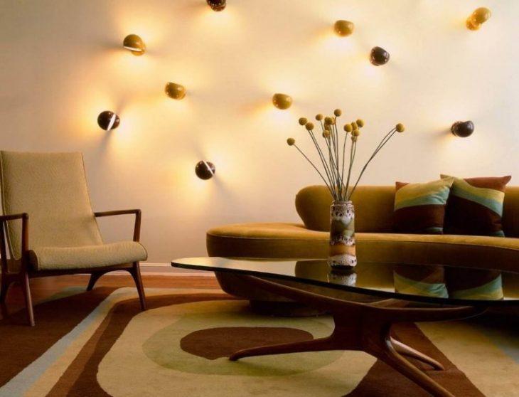 встроенные светильники в интерьере