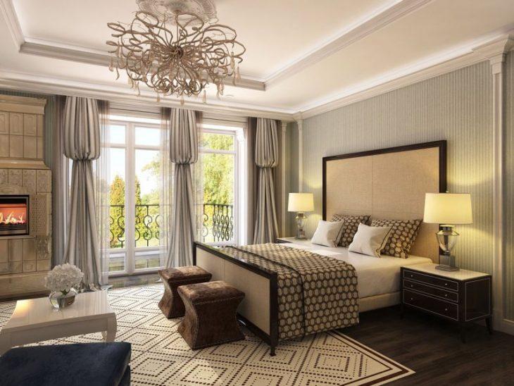 варианты оформления спальни