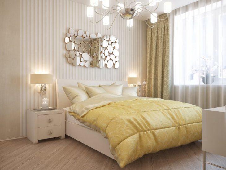 фото оформления маленькой спальни