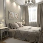 красивое оформление спальни