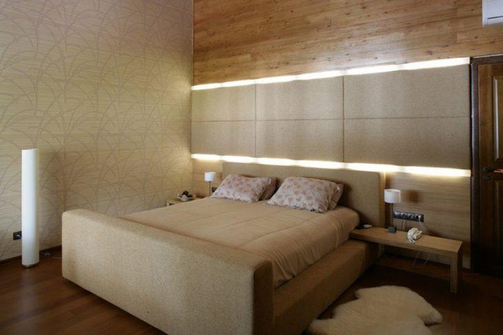 мягкая стена над кроватью
