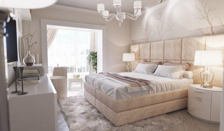 декорирование стены над кроватью