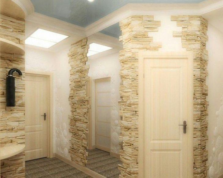 отделка фасада декоративным камнем