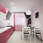 дизайн ремонта кухни студии