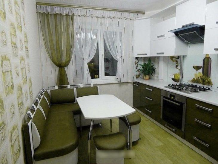 ремонт маленькой кухни дизайн