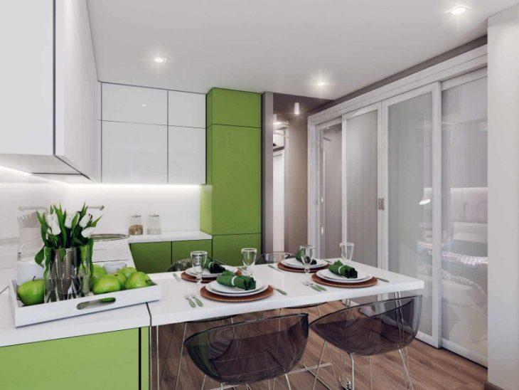 ремонт кухни современный дизайн