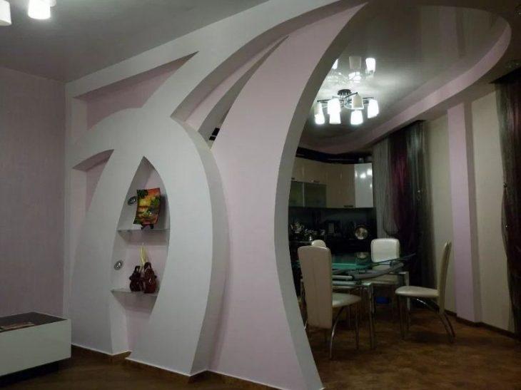 виды арок в квартире