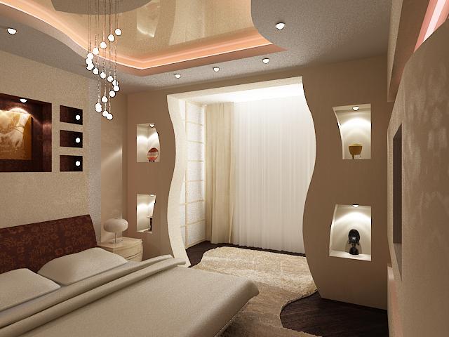 дизайн арки в гостиной