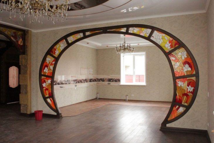 красивые арки в квартире
