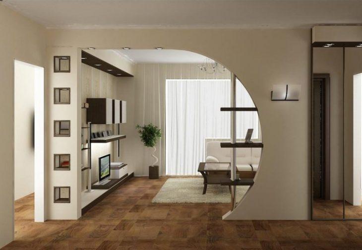 отделка арки в квартире