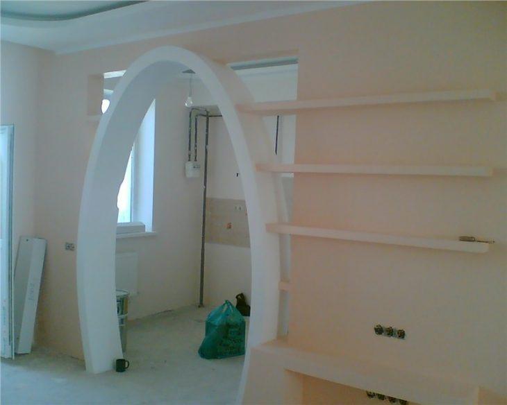 как оформить арку в квартире