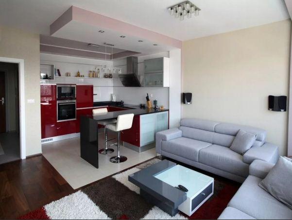 кухня гостиная варианты дизайна