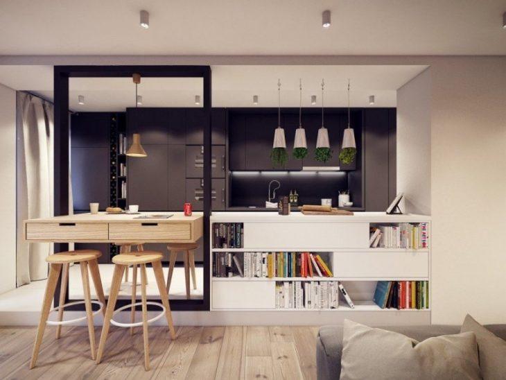 идеи дизайна кухни гостиной фото