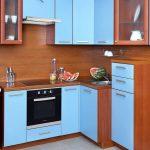 маленькая угловая кухня в хрущевке фото