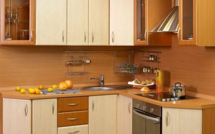 встроенные кухни угловые маленькие