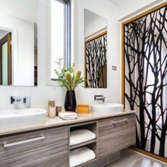 Тренды дизайна ванной комнаты. 100 фото тенденций в ванной комнате