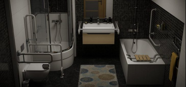 ступеньки для ванной для инвалидов