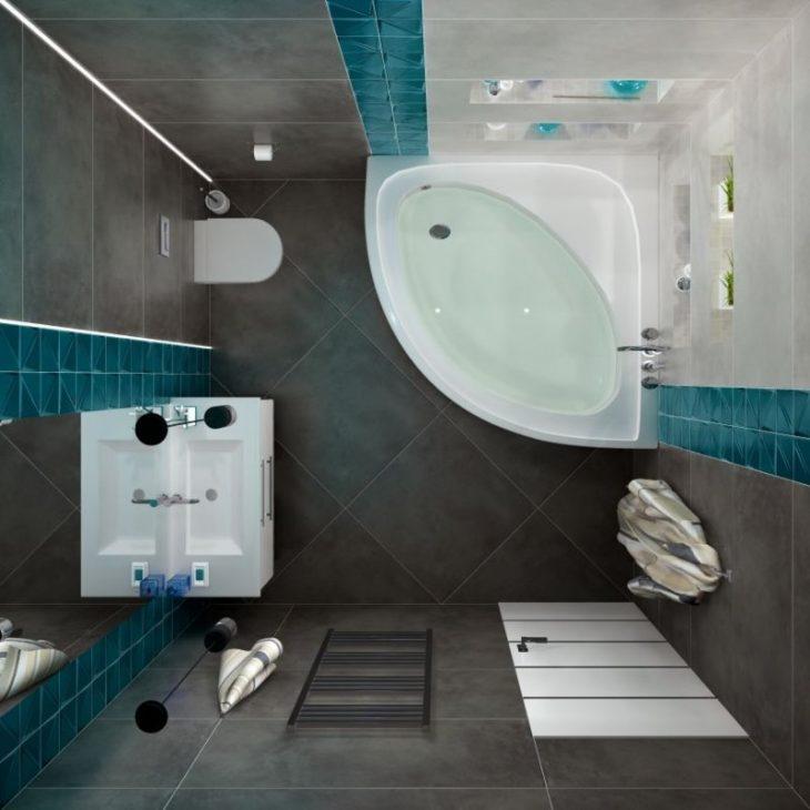 идеи ванной с душевой кабиной