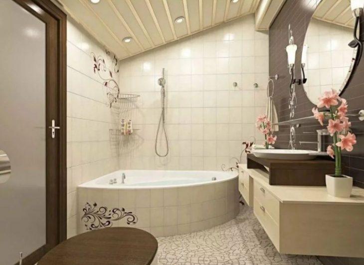 интересные идеи ремонта ванной комнаты