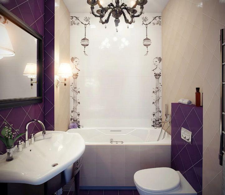 идеи интерьера ванных комнат
