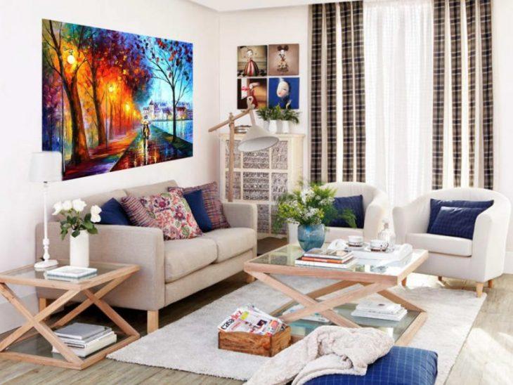 цвет в интерьере квартиры студии