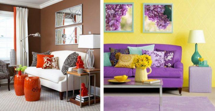 цвета в интерьере квартиры сочетания
