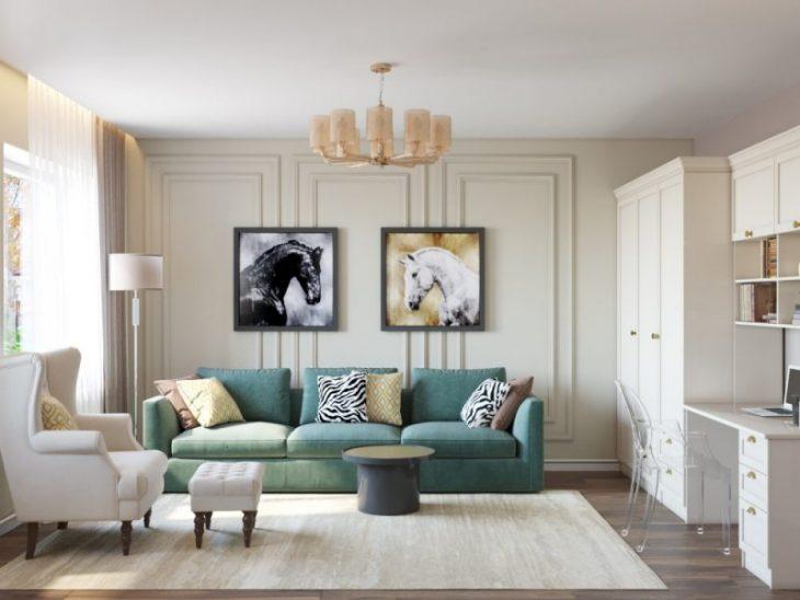 цвета стен в интерьере квартиры