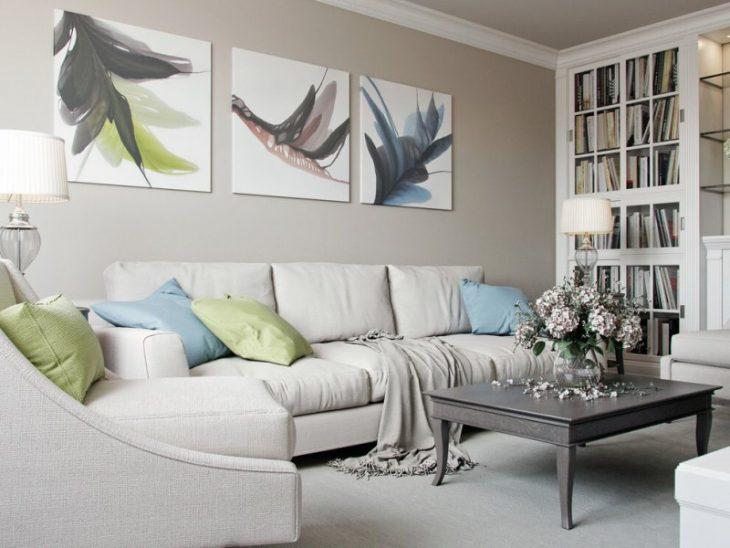 белый цвет в интерьере квартиры фото
