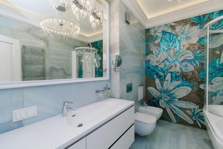интересный ремонт ванной комнаты