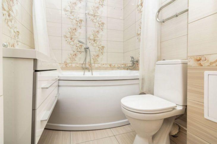 реальный ремонт ванной комнаты