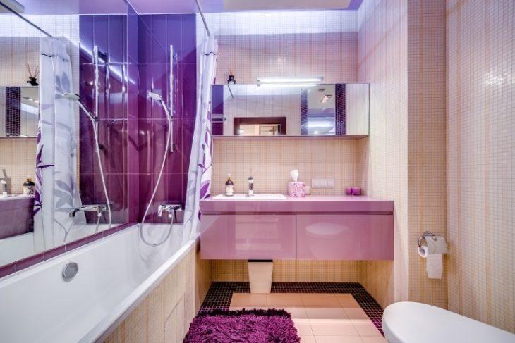 пример ремонта ванной комнаты