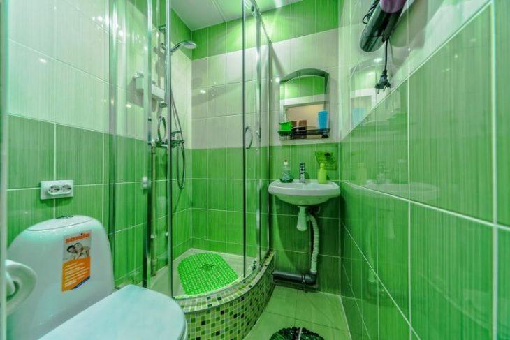 ремонт пола в ванной комнате