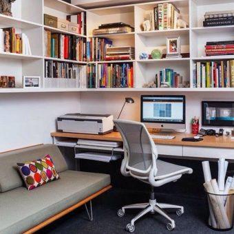 Выбираем в домашний офис мебель. 90 фото примеров обустройства офиса дома