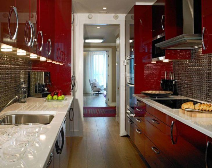 идеи дизайна кухни в хрущевках фото