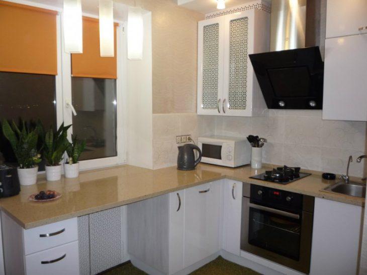 дизайн кухни реальные фото хрущевка