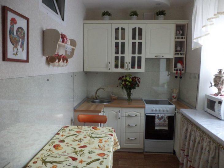 дизайн проект кухни в хрущевке