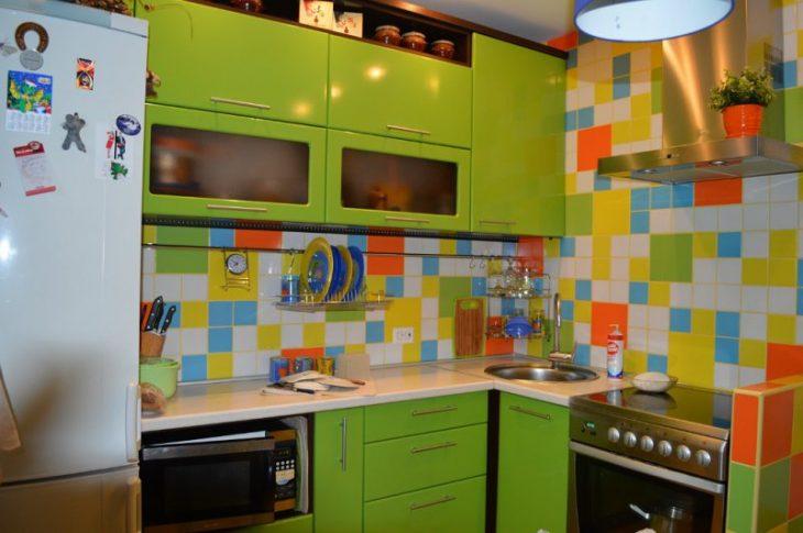 дизайн стен кухни в хрущевке