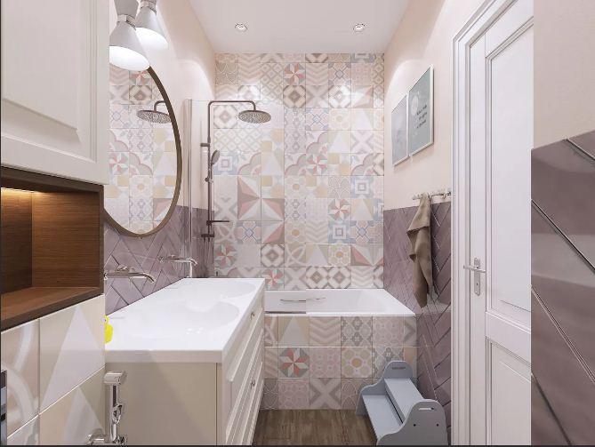 Новые фото ванных комнат. 90 фото трендов оформления ванной комнаты