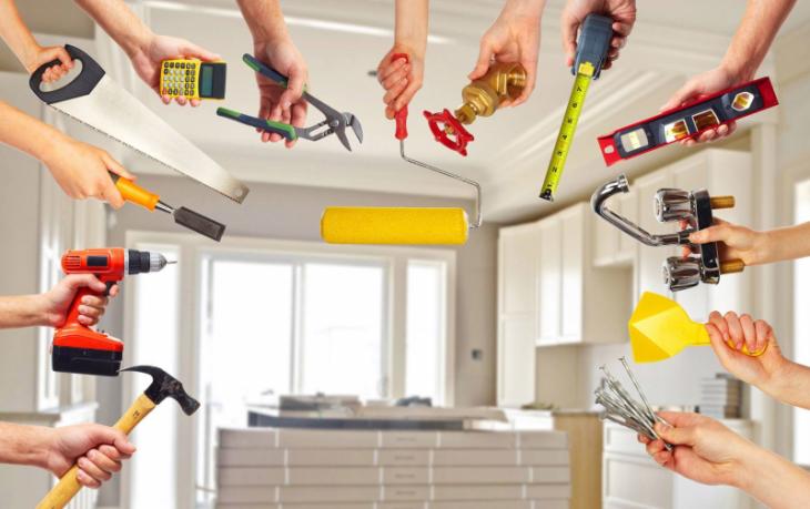 Поговорим об этапах ремонта в квартире