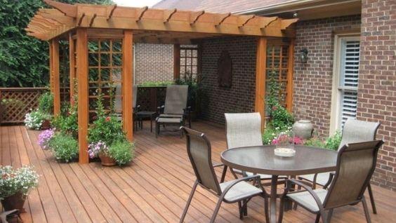 Террасы и веранды пристроенные к дому фото, проекты