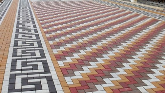 Брусчатка тротуарная фото, тонкости укладки