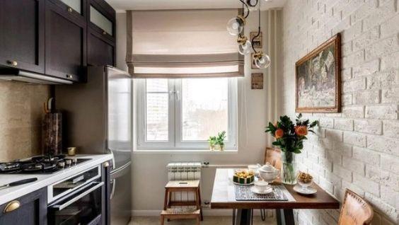 Кухня 9 м2 планировка и дизайн, фото, с балконом и без