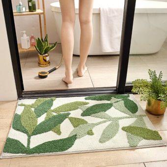 Как выбрать коврик в ванную комнату и туалет на пол