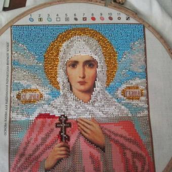 Вышивка икон