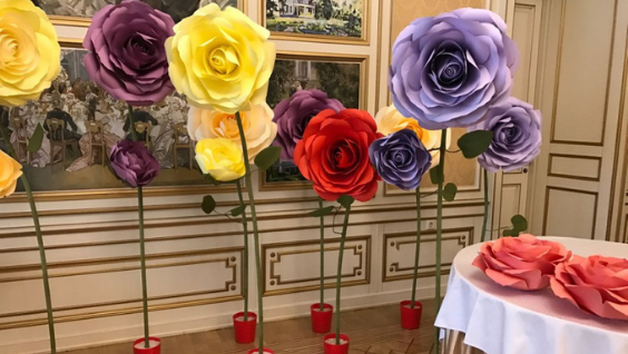 Цветы из бумаги для начинающих своими руками