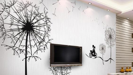 Рисунки на стенах в квартире,