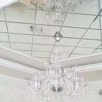 Зеркальный потолок для вашего дома